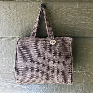 The SAK taupe purse NWOT zip top never used